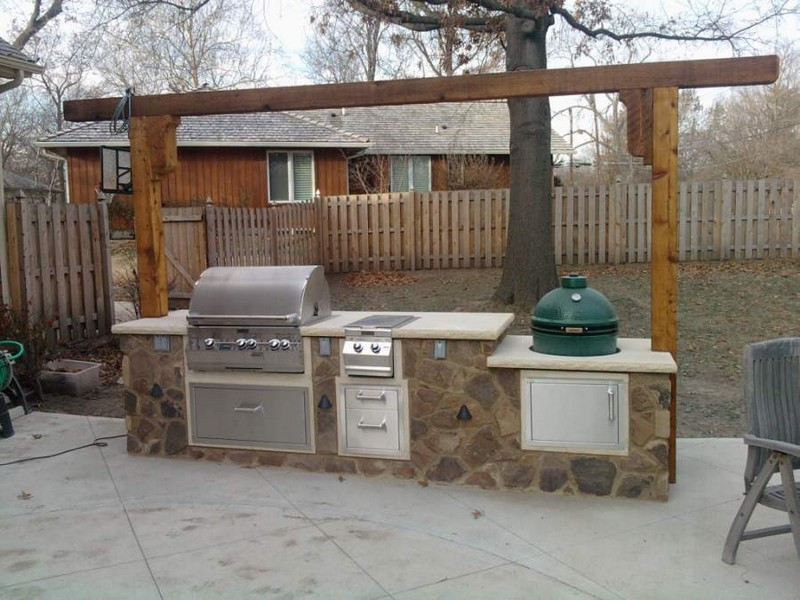 Outdoor kitchens rocks masonry long island masonry for Outdoor kitchen contractors