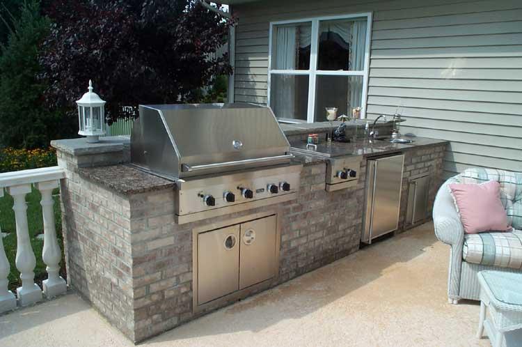 Outdoor Kitchen Rocks Masonry